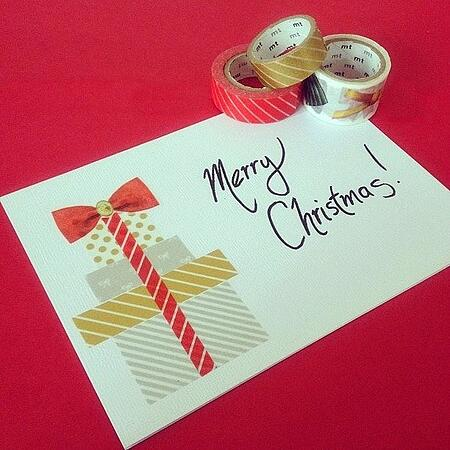 christmas diy card