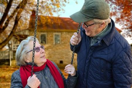 retirement couple super