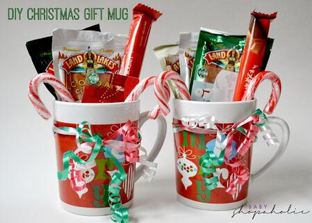 christmas gift mug diy hot chocolate