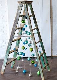 diy christmas tree ladder